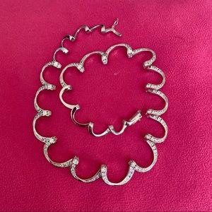 Joseph Esposito Sterling Silver Spiral Necklace